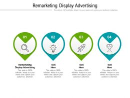 Remarketing Display Advertising Ppt Powerpoint Presentation Ideas Layout Cpb