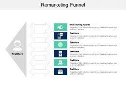 Remarketing Funnel Ppt Powerpoint Presentation Slides Aids Cpb