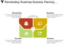 Remarketing Roadmap Business Planning Alternative Investment Return Investment