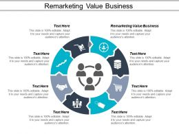 Remarketing Value Business Ppt Powerpoint Presentation Ideas Graphics Example Cpb