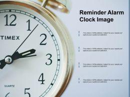 Reminder Alarm Clock Image