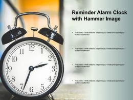 Reminder Alarm Clock With Hammer Image