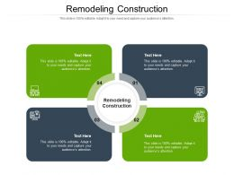 Remodeling Construction Ppt Powerpoint Presentation Styles Layouts Cpb