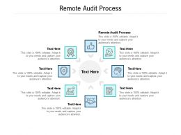 Remote Audit Process Ppt Powerpoint Template Professional Cpb