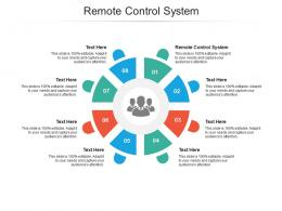 Remote Control System Ppt Powerpoint Presentation Professional Styles Cpb