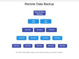 Remote Data Backup Ppt Powerpoint Presentation Slides Rules Cpb