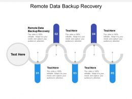 Remote Data Backup Recovery Ppt Powerpoint Presentation Gallery Objects Cpb