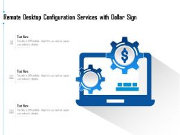 Remote Desktop Configuration Services With Dollar Sign