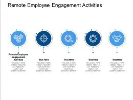 Remote Employee Engagement Activities Ppt Powerpoint Presentation Professional Ideas Cpb