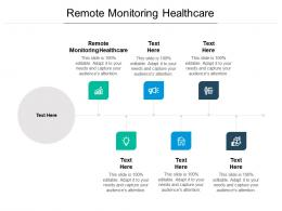 Remote Monitoring Healthcare Ppt Powerpoint Presentation Model Visual Aids Cpb
