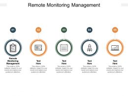 Remote Monitoring Management Ppt Powerpoint Presentation File Professional Cpb