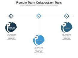 Remote Team Collaboration Tools Ppt Powerpoint Presentation Slides Graphics Cpb