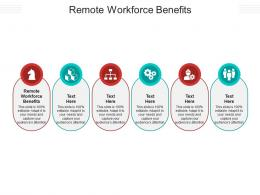 Remote Workforce Benefits Ppt Powerpoint Presentation Summary Templates Cpb