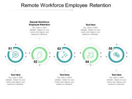 Remote Workforce Employee Retention Ppt Powerpoint Presentation Inspiration Cpb