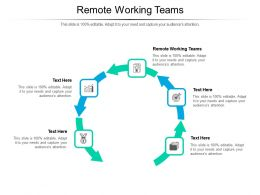 Remote Working Teams Ppt Powerpoint Presentation File Sample Cpb