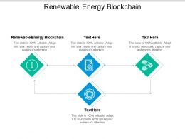 Renewable Energy Blockchain Ppt Powerpoint Presentation Gallery Cpb