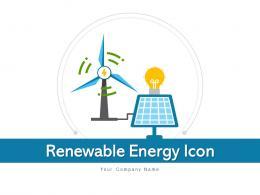 Renewable Energy Icon Generation Commercial Management Utilization Source