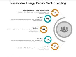 Renewable Energy Priority Sector Lending Ppt Powerpoint Presentation Model Picture Cpb