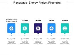 Renewable Energy Project Financing Ppt Powerpoint Portfolio Graphics Design Cpb