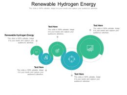 Renewable Hydrogen Energy Ppt Powerpoint Presentation Model Design Templates Cpb