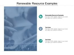 Renewable Resource Examples Ppt Powerpoint Presentation Summary Cpb