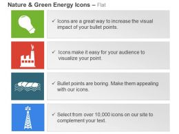 Renewable Wave Power Coal And Gas Plant Ppt Icons Graphics