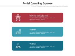 Rental Operating Expense Ppt Powerpoint Presentation Inspiration Rules Cpb