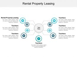 Rental Property Leasing Ppt Powerpoint Presentation Model Topics Cpb