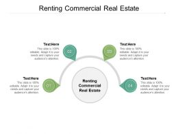 Renting Commercial Real Estate Ppt Powerpoint Presentation Graphics Cpb