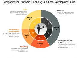Reorganization Analysis Financing Business Development Sale