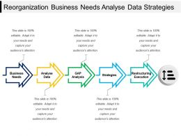 Reorganization Business Needs Analyze Data Strategies