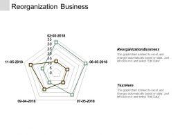Reorganization Business Ppt Powerpoint Presentation Inspiration Good Cpb
