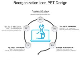 Reorganization Icon Ppt Design