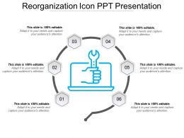 Reorganization Icon Ppt Presentation