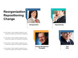 Reorganization Repositioning Change Management Strategies Customer Relationship Management Cpb