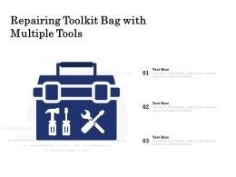 Repairing Toolkit Bag With Multiple Tools