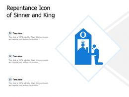 Repentance Icon Of Sinner And King