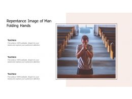 Repentance Image Of Man Folding Hands