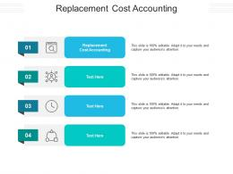 Replacement Cost Accounting Ppt Powerpoint Presentation Gallery File Formats Cpb