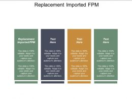 Replacement Imported Fpm Ppt Powerpoint Presentation Ideas Samples Cpb