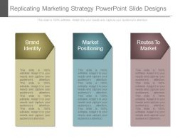 Replicating Marketing Strategy Powerpoint Slide Designs