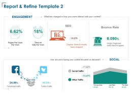 Report And Refine Time Management Ppt Powerpoint Presentation Infographics Infographic Template