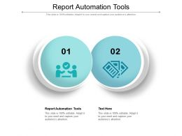 Report Automation Tools Ppt Powerpoint Presentation Model Inspiration Cpb