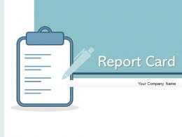 Report Card Performance Financial Statements Opportunities Business