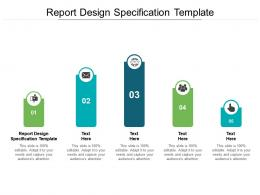 Report Design Specification Template Ppt Powerpoint Presentation Template Cpb
