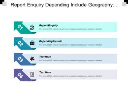 Report Enquiry Depending Include Geography World Entertainment Surveillance