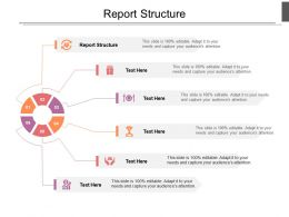 Report Structure Ppt Powerpoint Presentation Outline Smartart Cpb