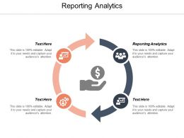 Reporting Analytics Ppt Powerpoint Presentation Show Infographic Template Cpb