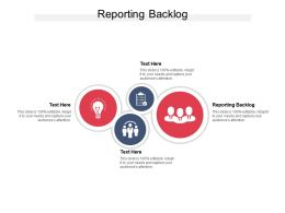 Reporting Backlog Ppt Powerpoint Presentation Styles Visual Aids Cpb