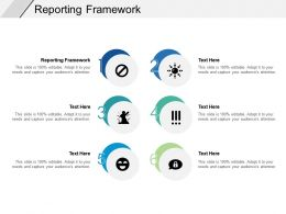 Reporting Framework Ppt Powerpoint Presentation Professional Influencers Cpb